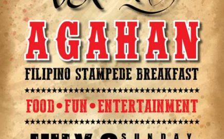 AGAHAN Filipino Style Stampede Breakfast 2018