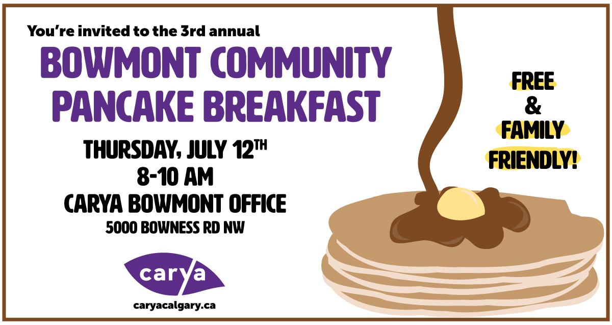 carya Bowmont Pancake Breakfast 2018