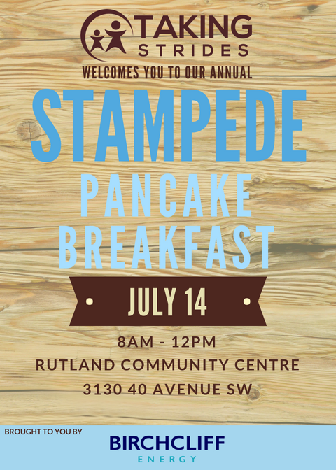 Taking Strides Stampede Breakfast 2018