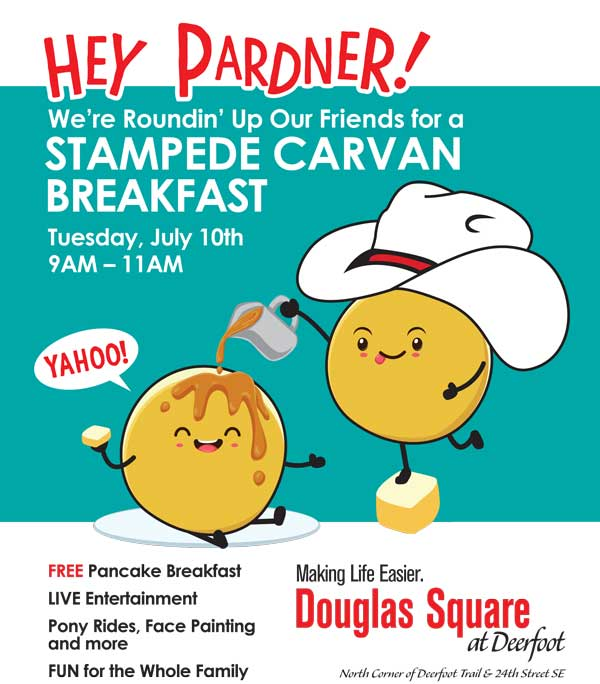 Douglas Square Stampede Breakfast 2018