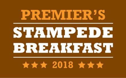 Premiers Stampede Breakfast 2018