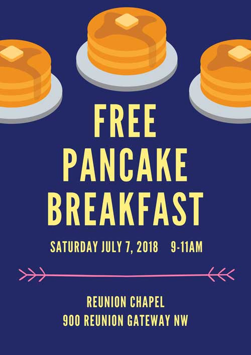LDS Reunion Pancake Breakfast 2018