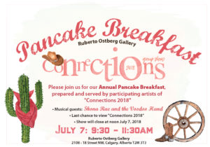 Artist-Run Pancake Breakfast & Connections 2018 Closing Reception