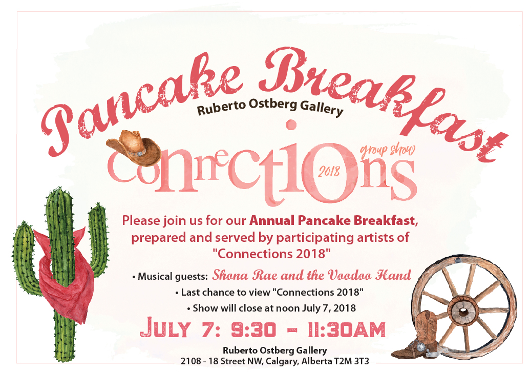 Artist-Run Pancake Breakfast & Connections 2018 Closing Reception