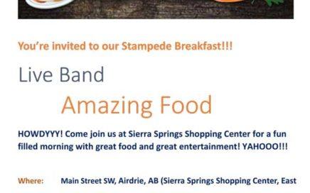 Sierra Springs Stampede Breakfast 2018