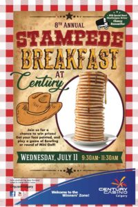 Stampede Breakfast at Century Calgary 2018