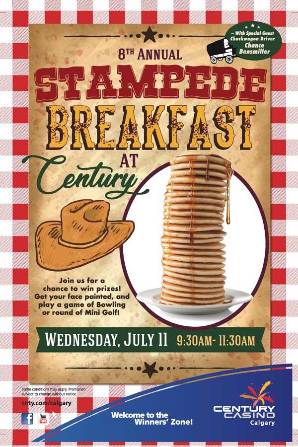Stampede Breakfast at Century Calgary 2018