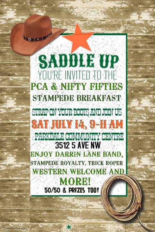 Stampede Caravan PCA and NF Stampede Breakfast 2018