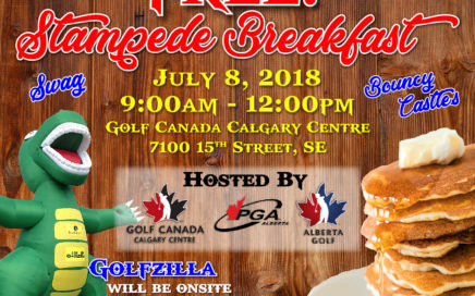 Golf Canada/AB Golf Pancake Breakfast 2018