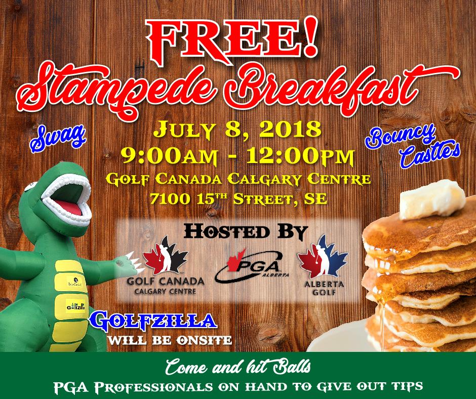 Golf Canada/AB Golf Pancake Breakfast 2018