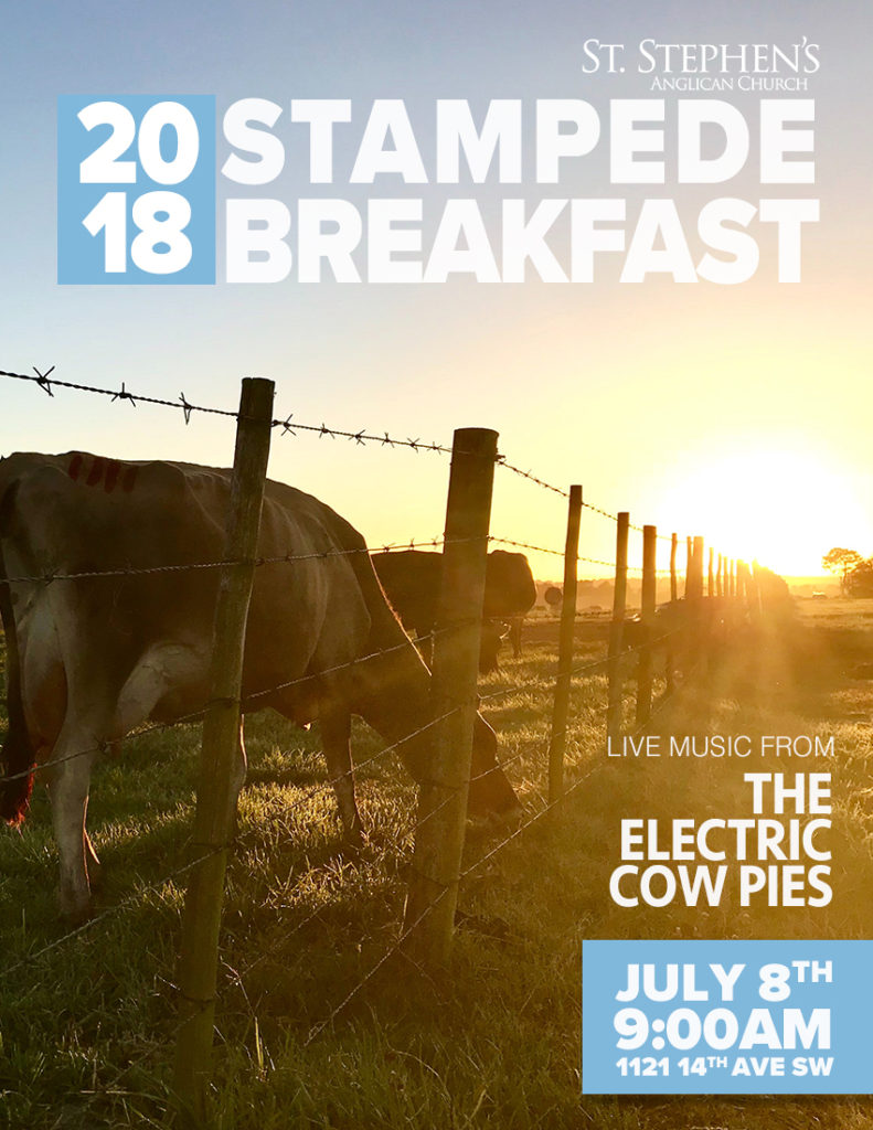 St. Stephen's Anglican Stampede Breakfast 2018