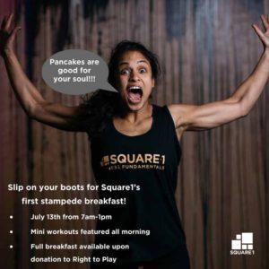 Square1 Pancake Breakfast 2018