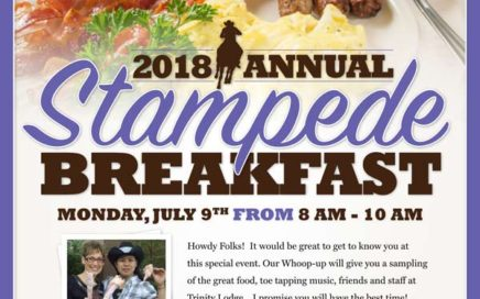 Trinity Lodge Stampede Breakfast 2018