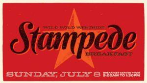Wild Wild Westside Stampede Breakfast 2018