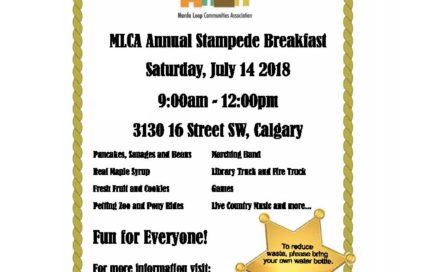 Marda Loop Communities Association Stampede Breakfast 2018