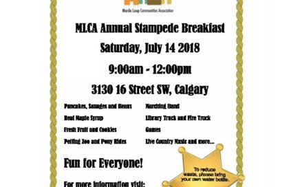 Marda Loop Communities Association Stampede Breakfast 2018