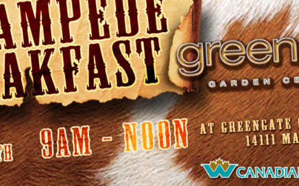 Greengate Garden Centre Stampede Breakfast 2018