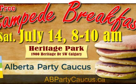 Alberta Party Caucus Stampede Breakfast 2018