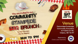 Community Stampede Brunch 2018