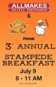 Allmakes Auto Stampede Breakfast 2018