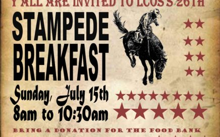 26th Annual Our Saviour Church Stampede Breakfast 2018