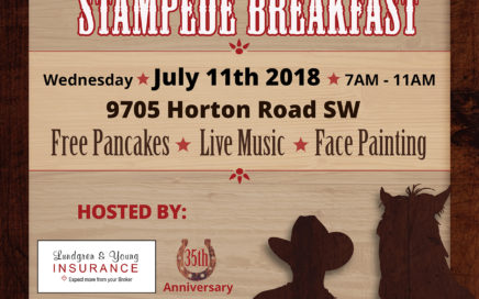 Lundgren & Young Stampede Breakfast 2018