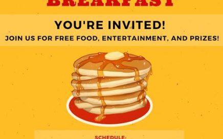 ABM College Stampede Breakfast 2018