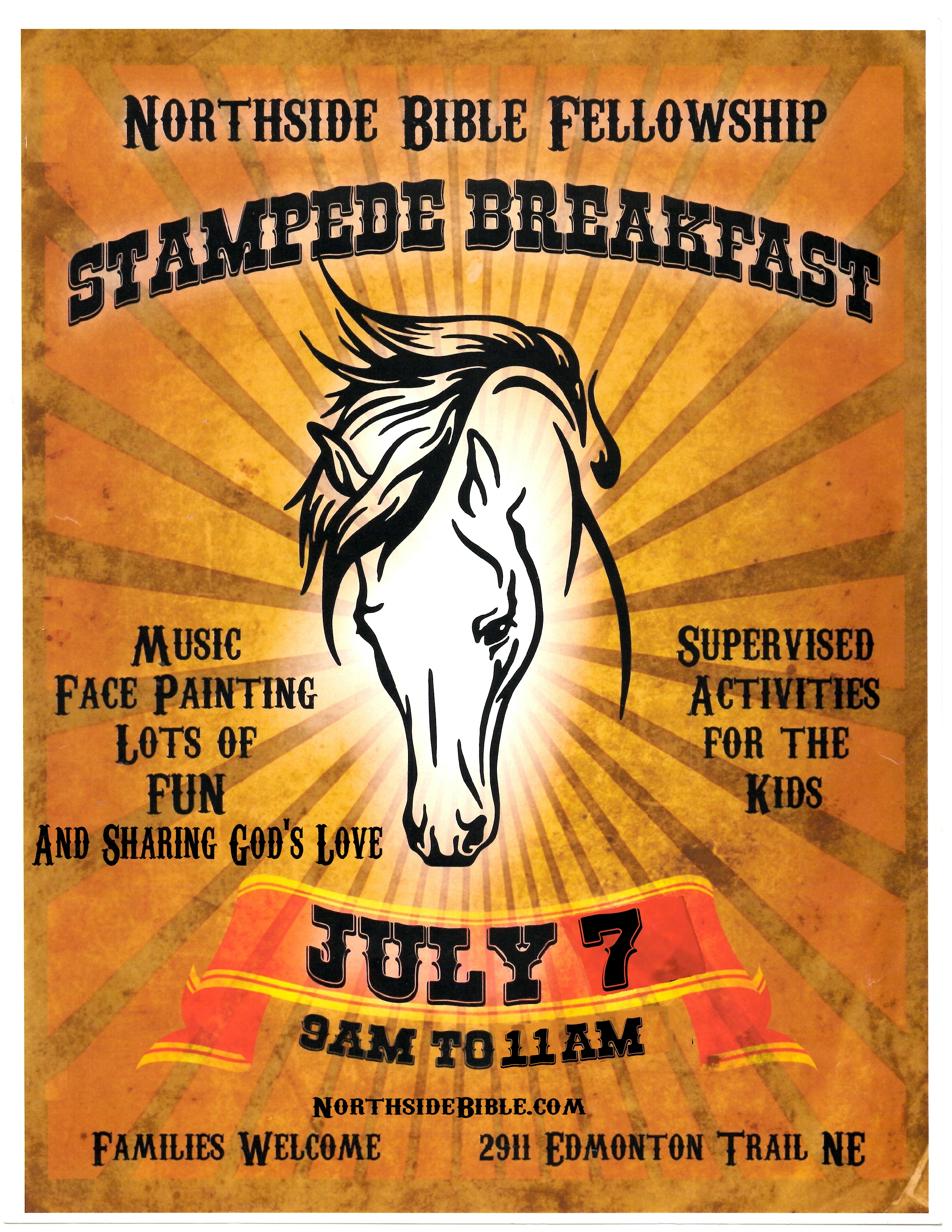 Northside Bible Fellowship Church Annual Stampede