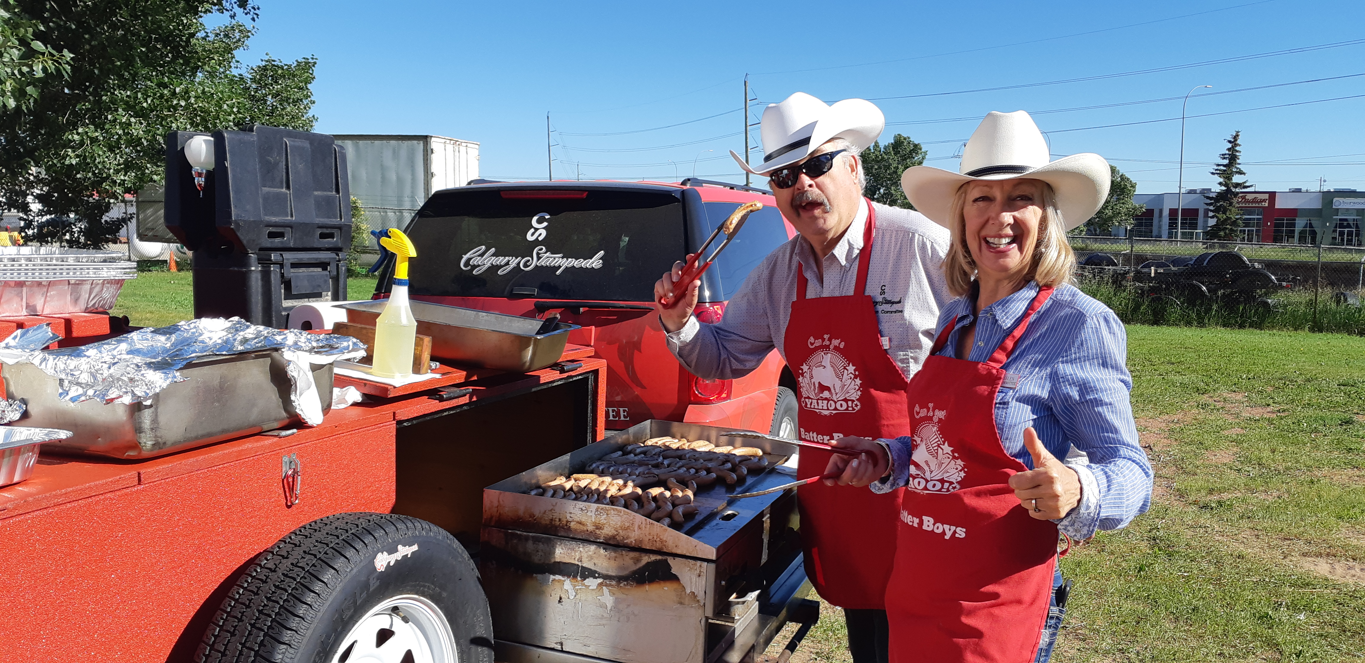 Free Stampede Breakfast By The Batter Boys And A Live Band