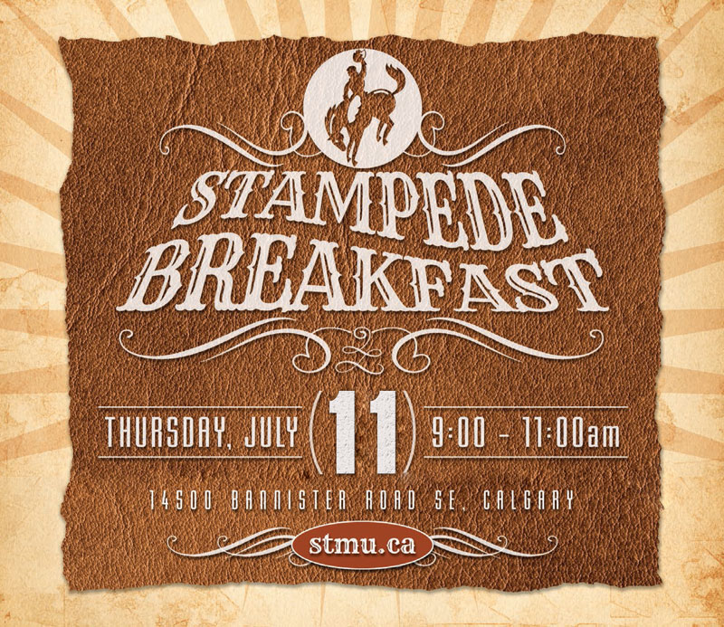 St Mary S University Stampede Breakfast Stampede