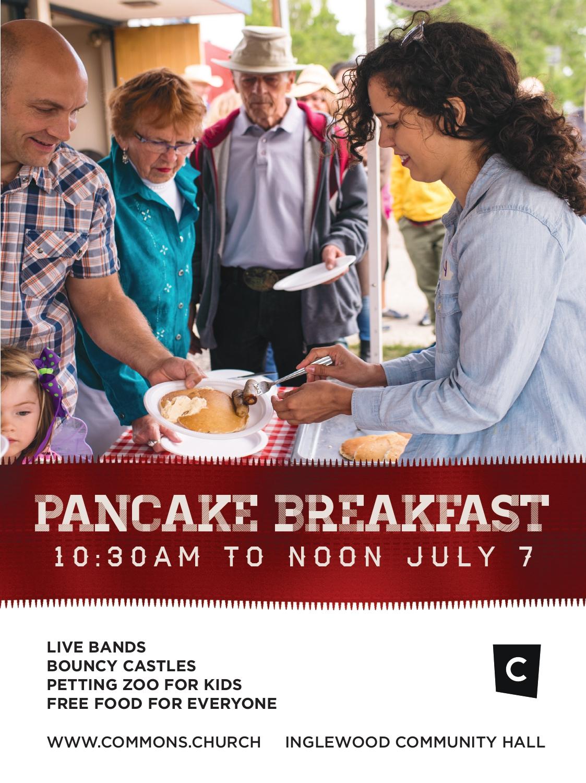 Commons Church Stampede Breakfast Inglewood Stampede